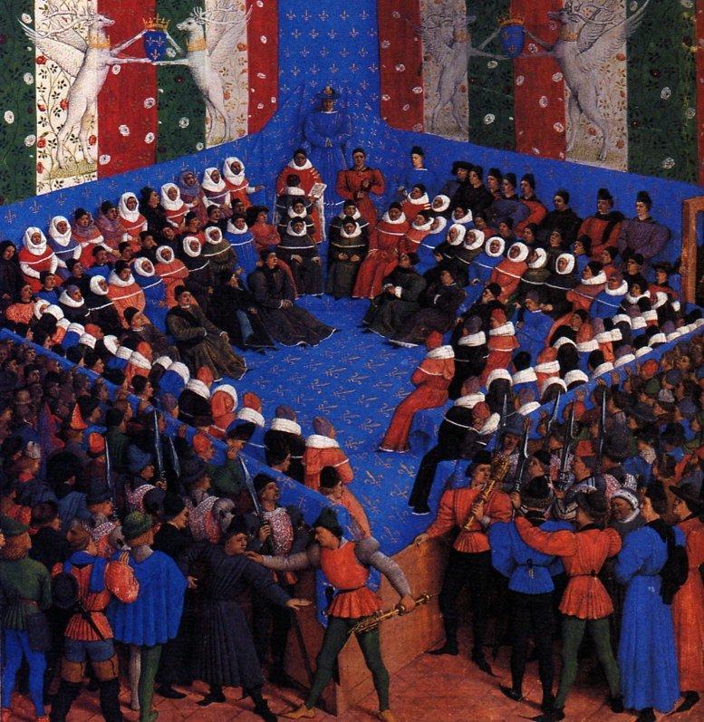 Cases of noble men and women - Jean Fouquet
