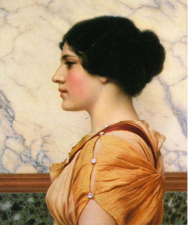 Cassotis - John William Godward