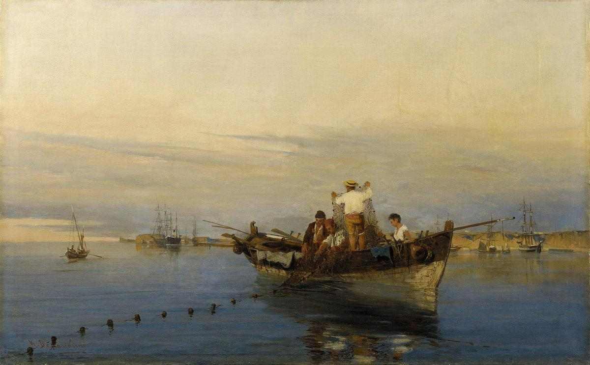 Casting the nets - Konstantinos Volanakis