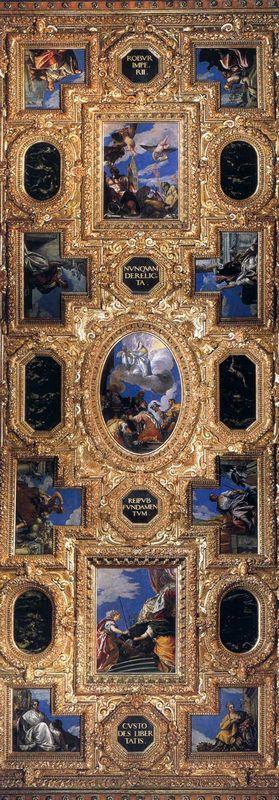 Ceiling paintings - Paolo Veronese