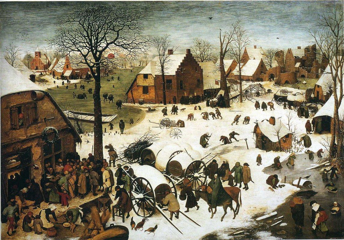 Census at Bethlehem - Pieter Bruegel the Elder