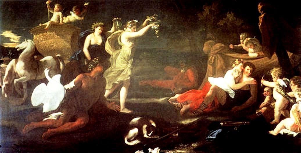 Cephalus and Aurora - Nicolas Poussin
