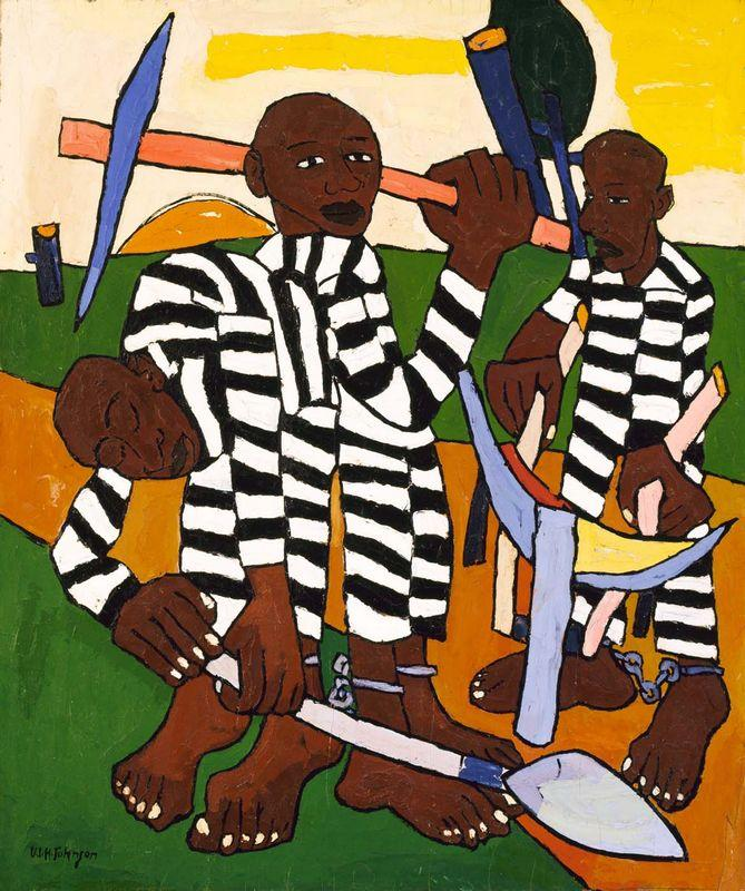Chain Gang - William H. Johnson