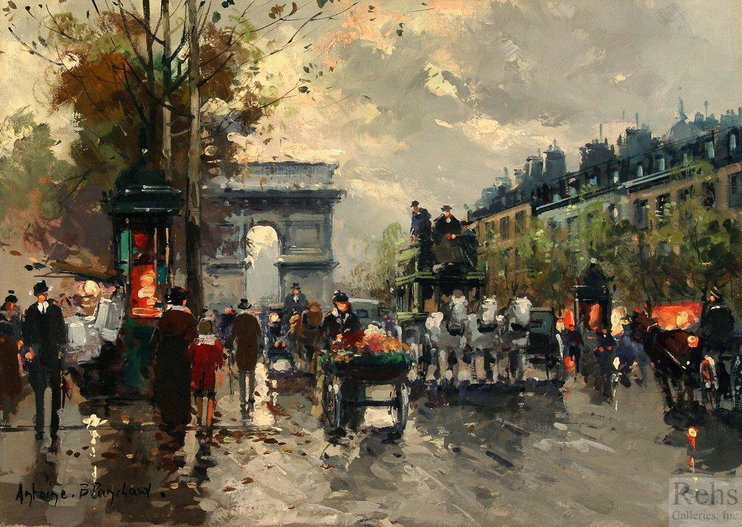 Champs Elysees, Arc de Triomphe - Antoine Blanchard