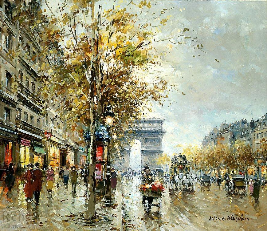 Champs Elysees - Antoine Blanchard