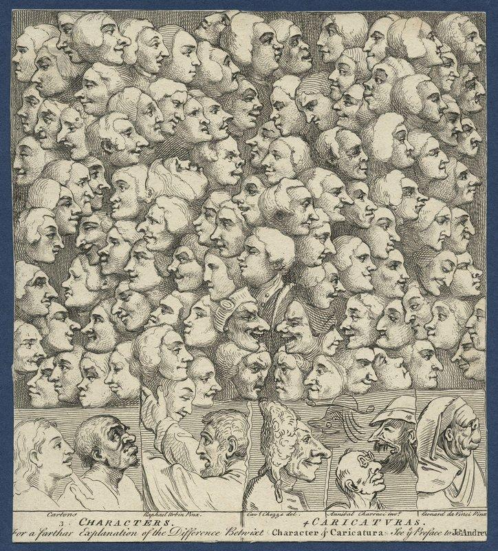 Characters and Caricaturas - William Hogarth