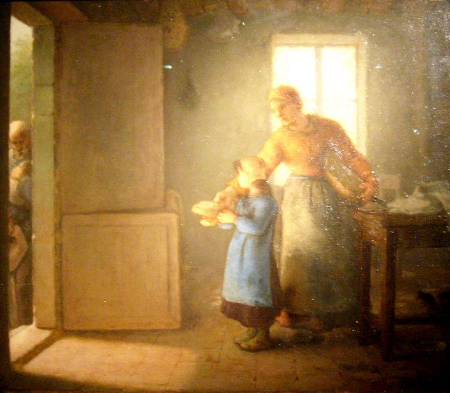 Charity - Jean-Francois Millet