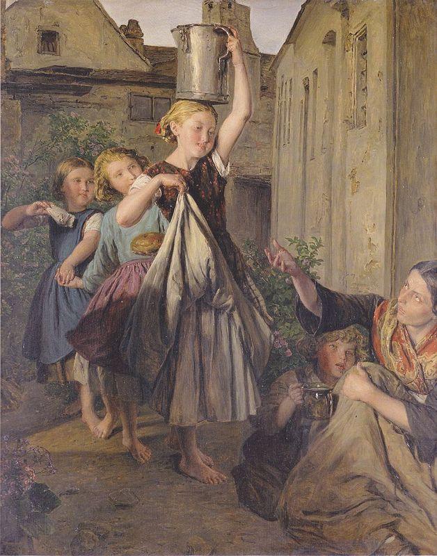 Charity  - Ferdinand Georg Waldmuller