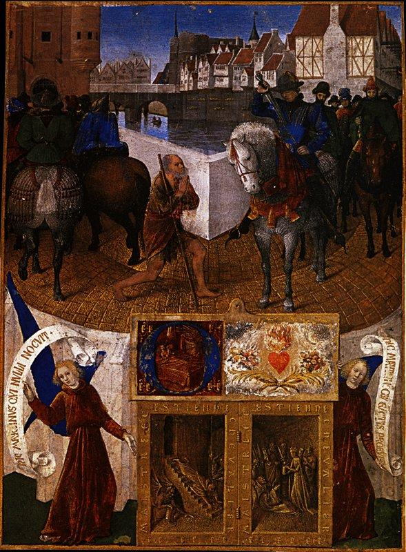 Charity of St. Martin - Jean Fouquet
