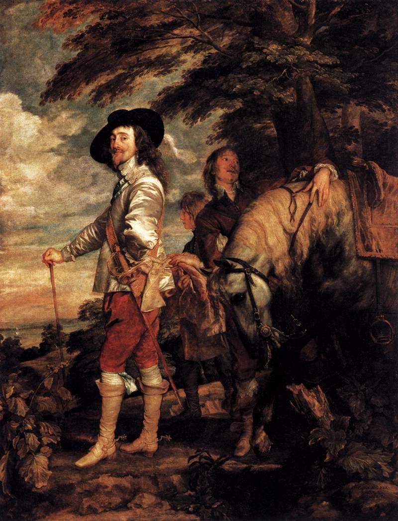 Charles I, King of England at the Hunt - Anthony van Dyck
