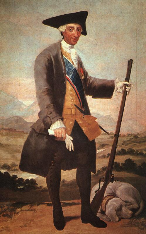 Charles III - Francisco Goya