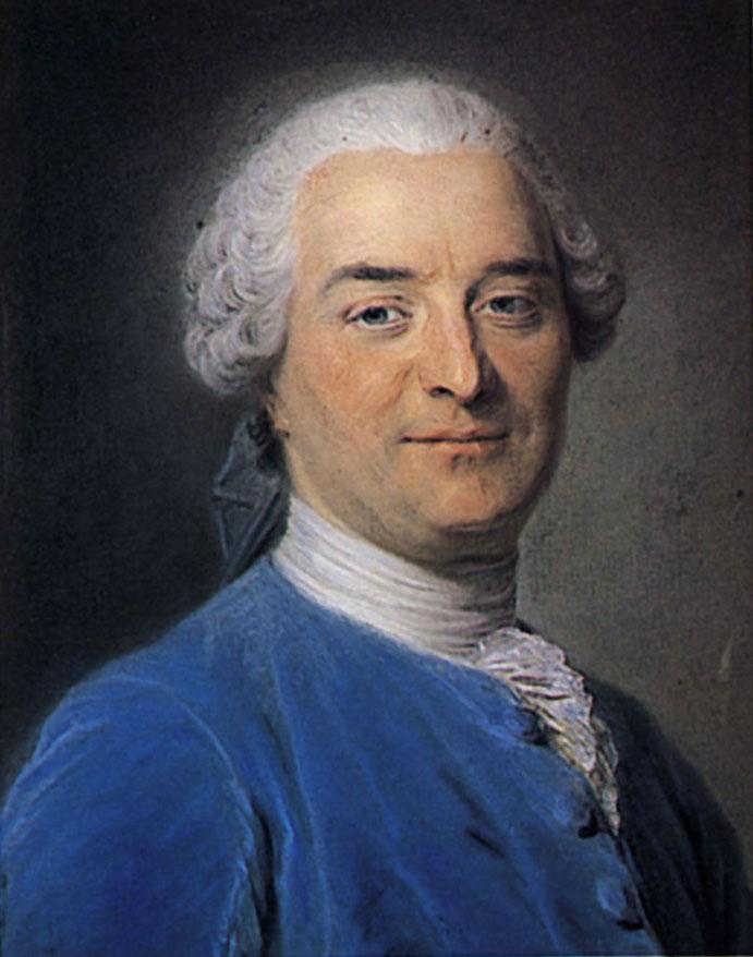 Charles Pinot Duclos, novelist and historian - Maurice Quentin de La Tour