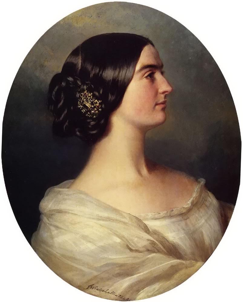 Charlotte Stuart, Viscountess Canning - Franz Xaver Winterhalter