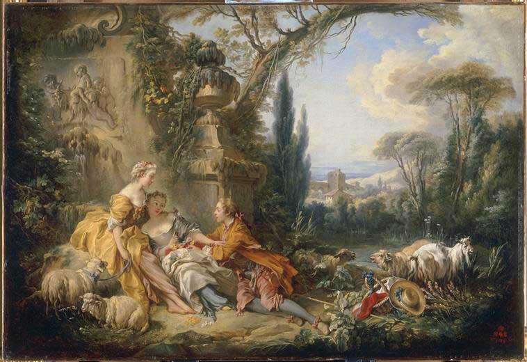 Charms of Country Life - Francois Boucher