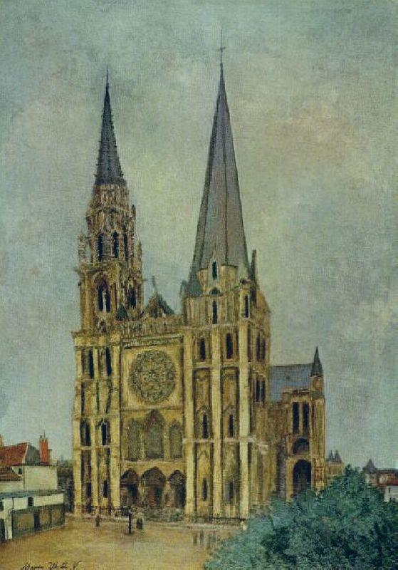 Chartres Cathedral - Chaim Soutine