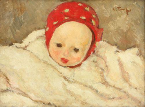 Child Head - Konstantin Makovsky