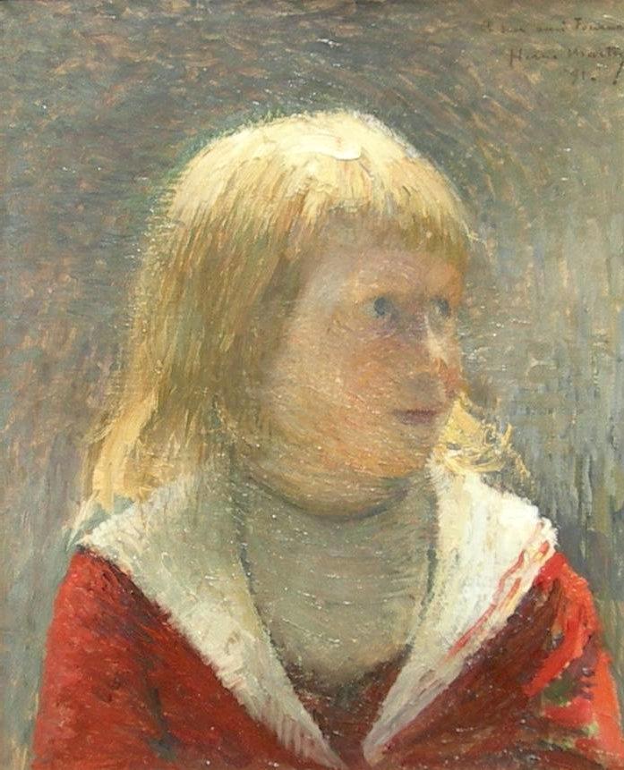Child in Red Jacket - Henri Martin