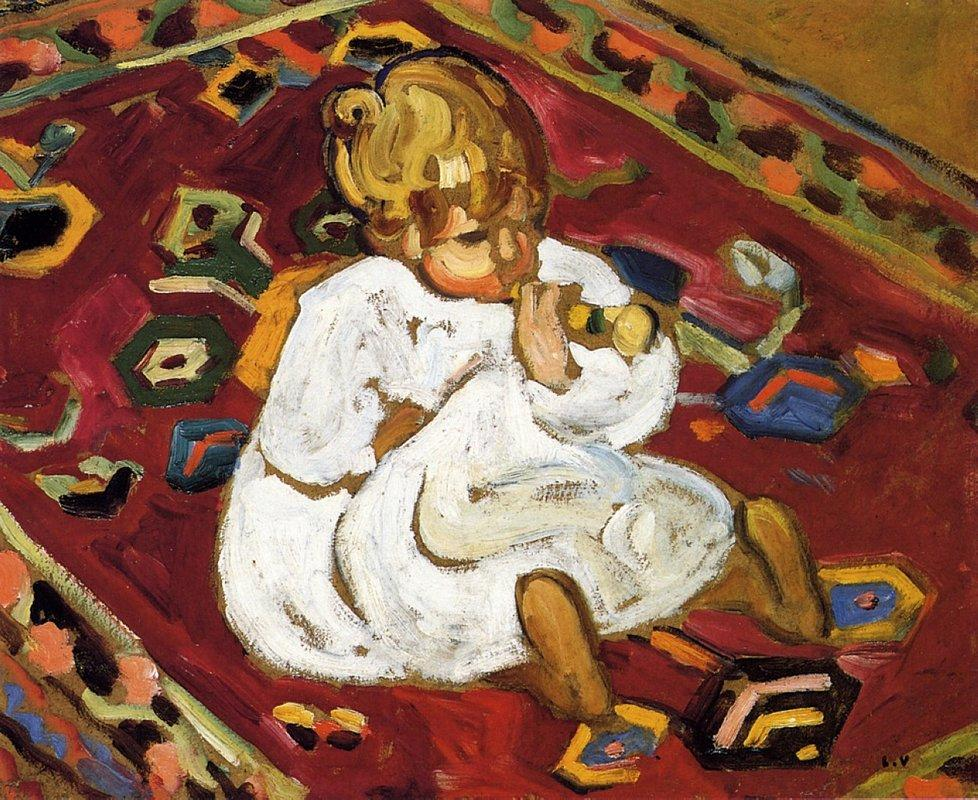 Child with Trumpet - Louis Valtat