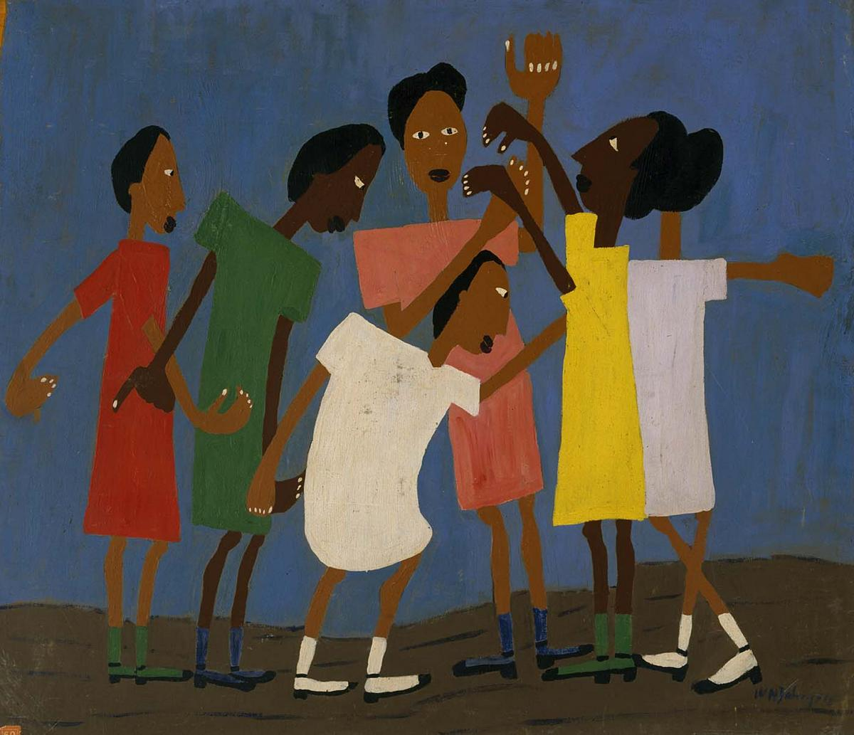 Children Dance - William H. Johnson