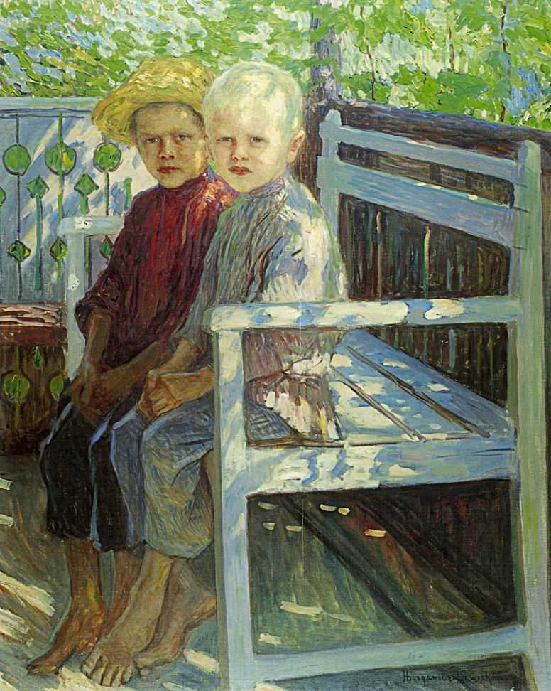 Children - Nikolay Bogdanov-Belsky