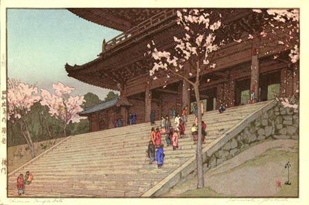 Chion-in Temple Gate - Hiroshi Yoshida