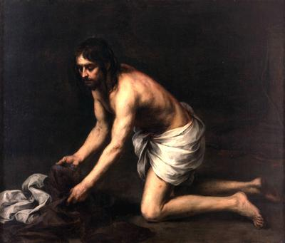 Christ after the Flagellation - Bartolome Esteban Murillo