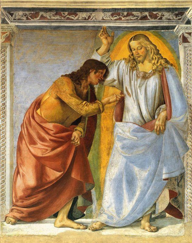 Christ and the Doubting Thomas - Luca Signorelli