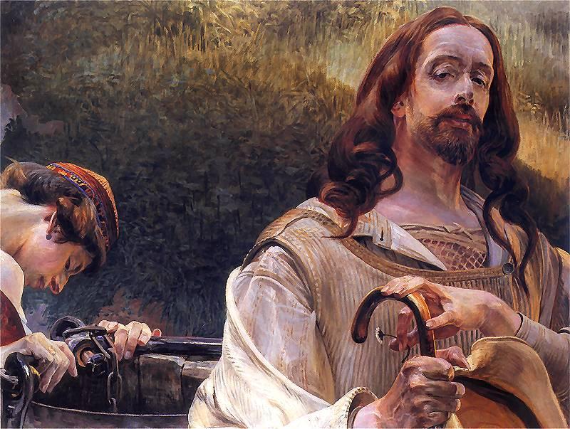 Christ and the Samaritan Woman - Henryk Siemiradzki