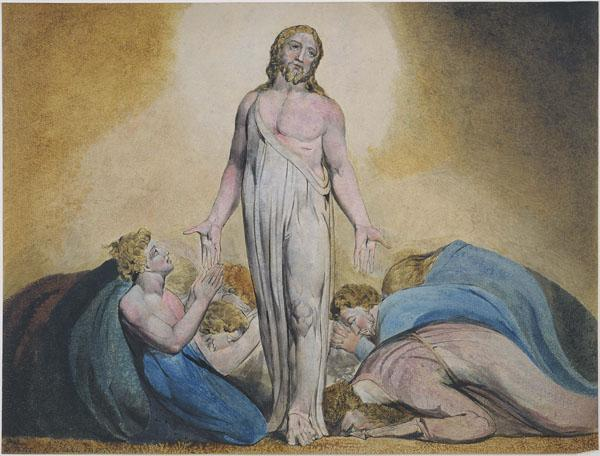 Christ Appearing to His Disciples After the Resurrection - William Blake