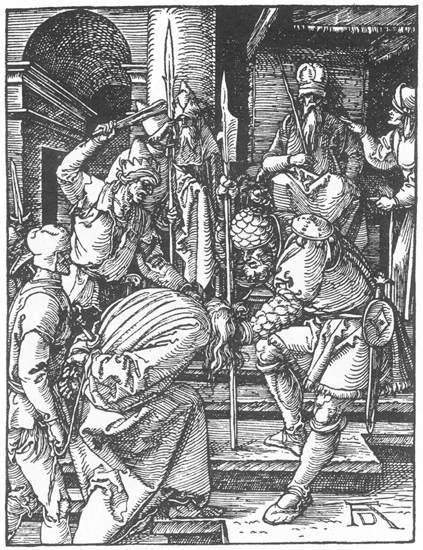 Christ before Annas - Albrecht Durer