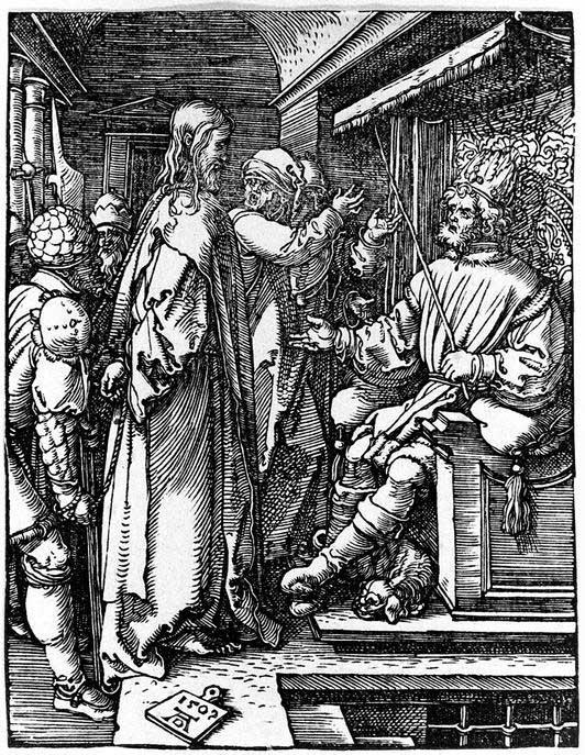 Christ before Herod - Albrecht Durer