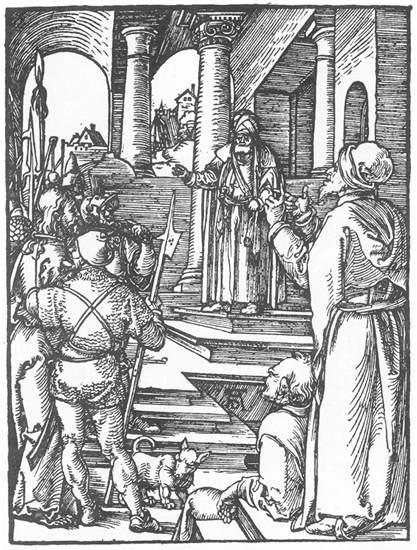 Christ before Pilate - Albrecht Durer