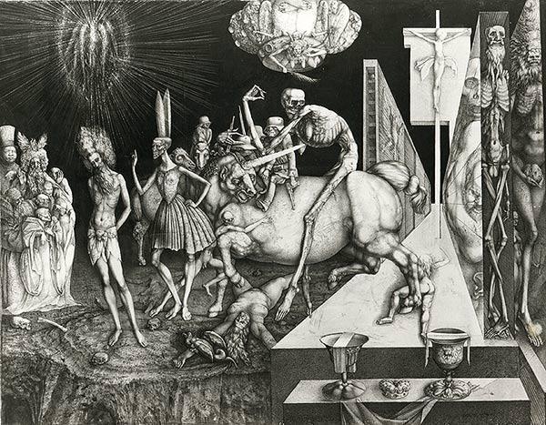 CHRIST BEFORE PILATE - Ernst Fuchs