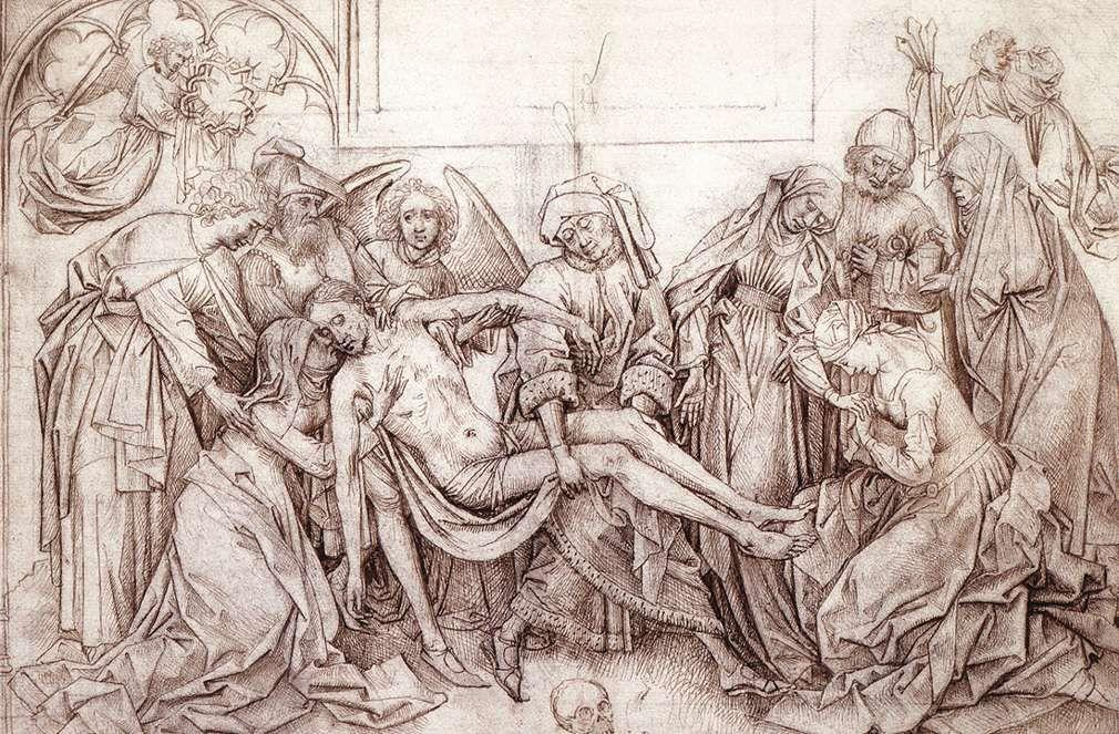Christ carried to the Tomb - Rogier van der Weyden
