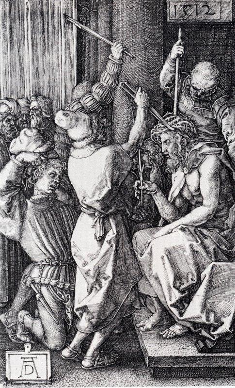 Christ Crowned With Thorns - Albrecht Durer