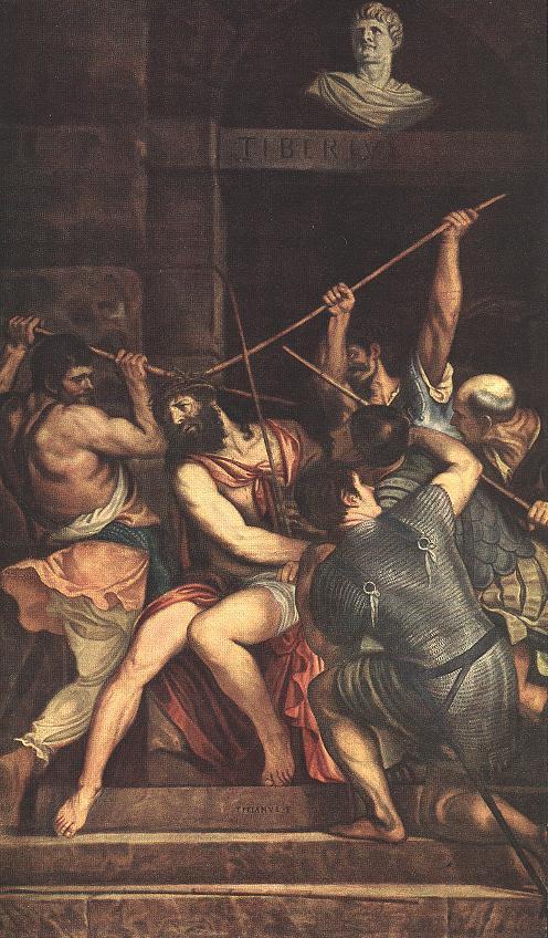 Christ crowned with thorns - Maerten van Heemskerck