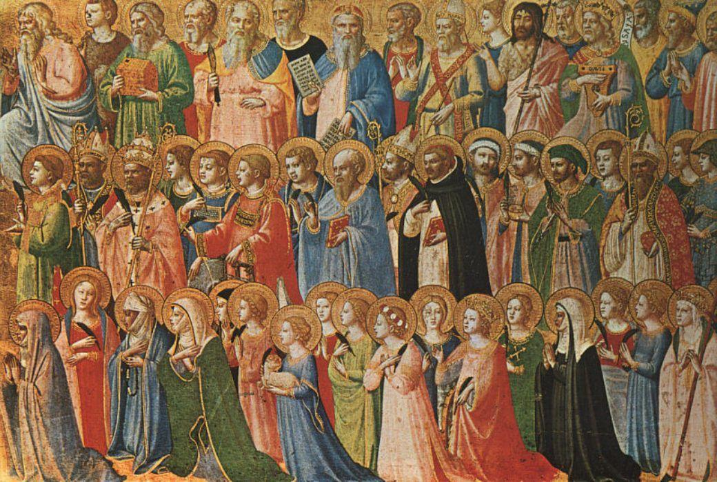 Christ Glorified in the Court of Heaven - Fra Angelico