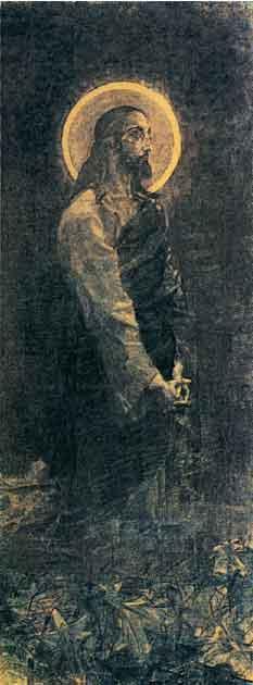 Christ in Gethsemane - Mikhail Vrubel