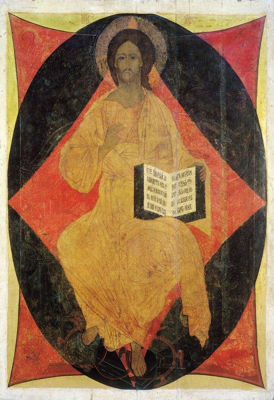 Christ in Majesty - Andrei Rublev