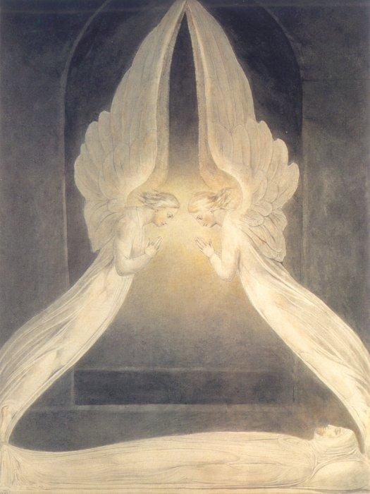 Christ in the Sepulchre - William Blake
