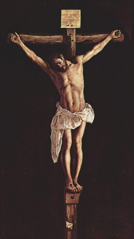 Christ on the Cross - Francisco de Zurbaran