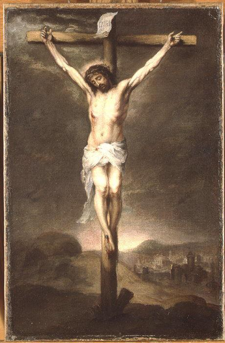 Christ on the Cross - Bartolome Esteban Murillo