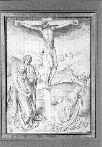 Christ on the Cross - Albrecht Altdorfer