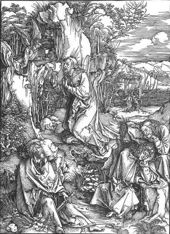 Christ on the Mount of Olives - Albrecht Durer