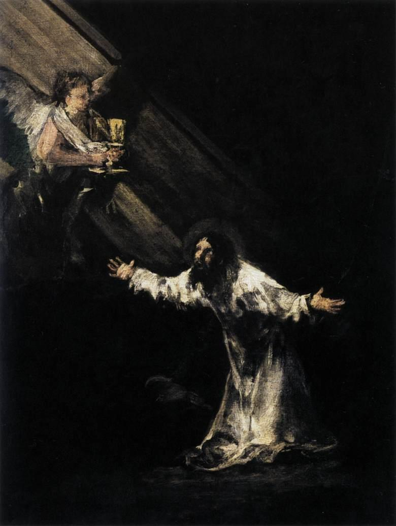 Christ on the Mount of Olives - Francisco Goya