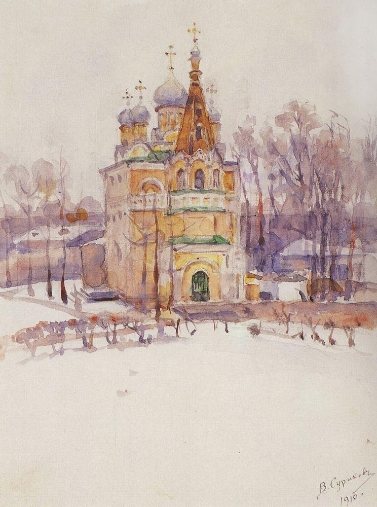 Church - Vasily Surikov