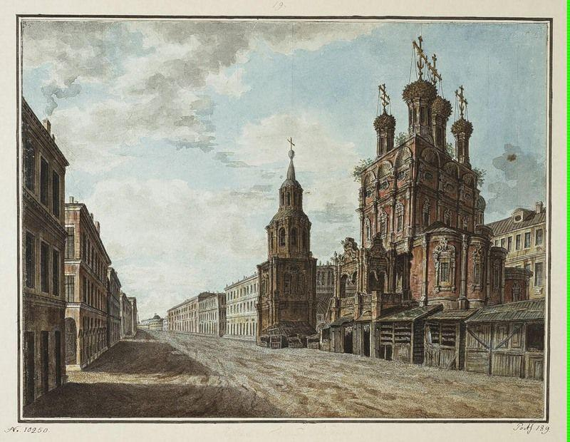 Church of Nikola the Big Cross on Ilyinka - Fyodor Alekseyev