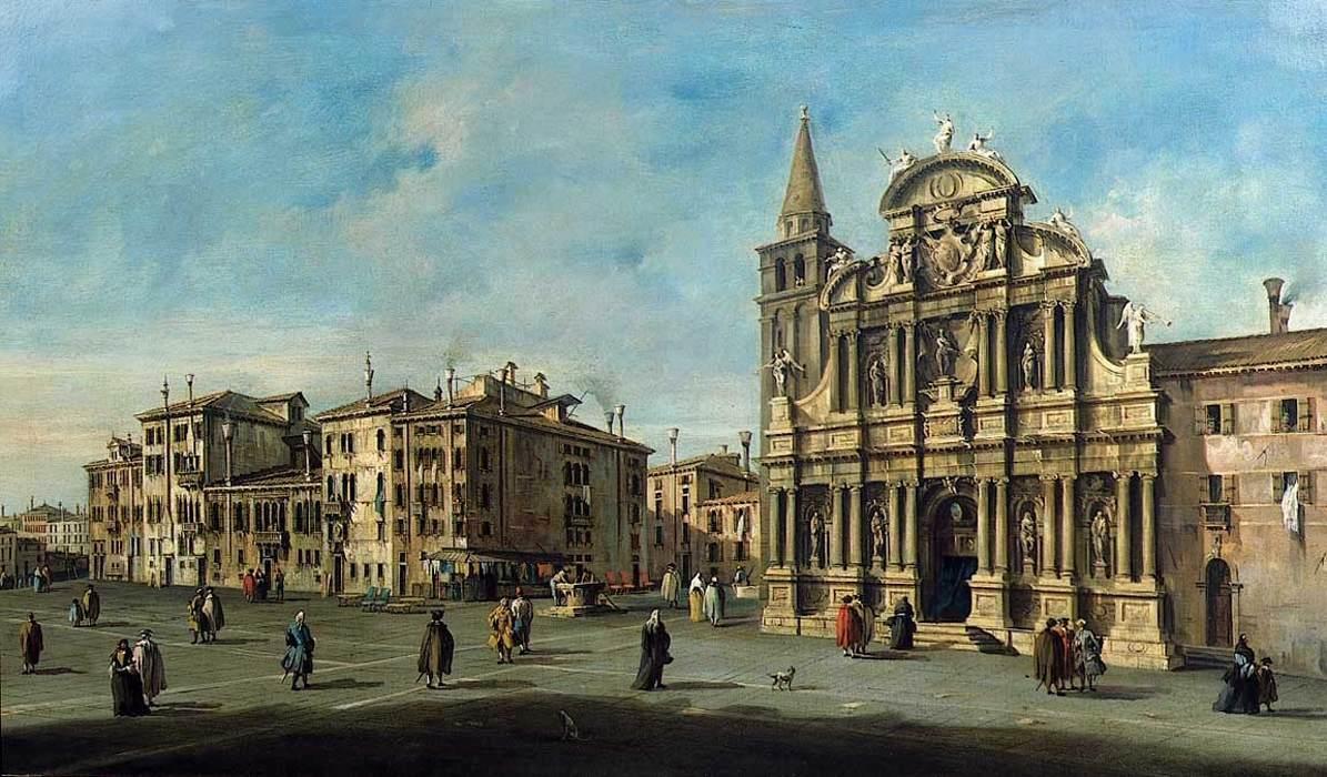 Church of Santa-Maria Zobenigo - Francesco Guardi