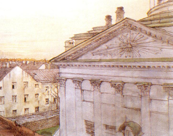 Church of St. Catherine in St. Petersburg - Alexandre Benois