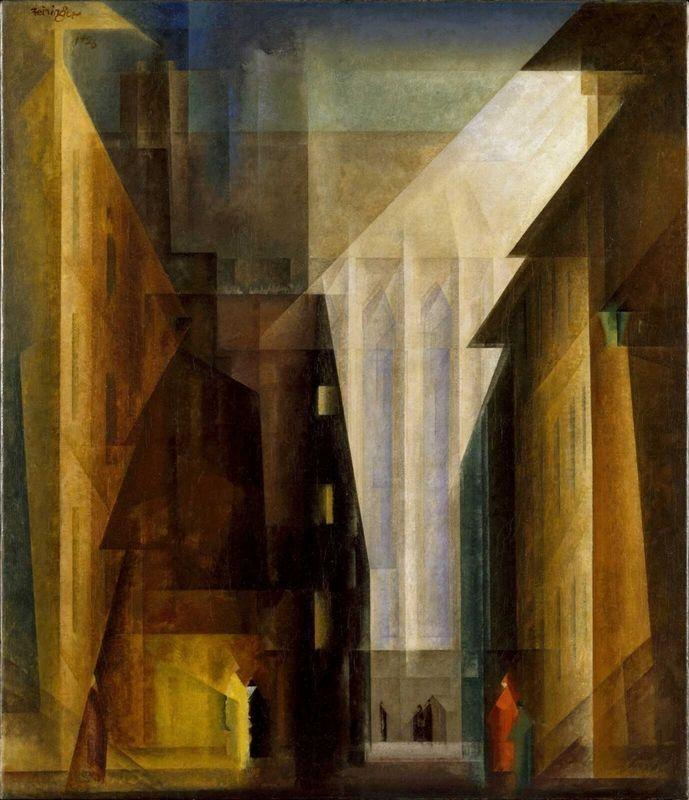 Church of the Minorities II - Lyonel Feininger